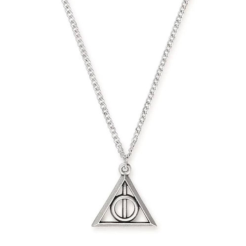Alex and Ani Harry Potter Deathly Hallows Adjustable Necklace - AS17HP23RS