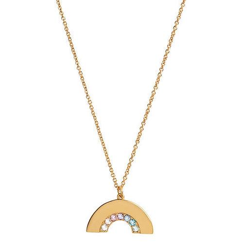 Olivia Burton Rainbow Gold Necklace OBJRBN02