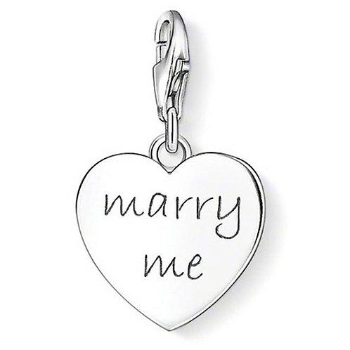 Thomas Sabo Silver Marry Me Charm -1064-001-12