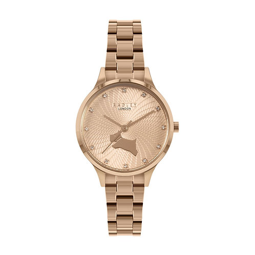 RADLEY Ladies Wilton Way Rose Gold Bracelet Strap Watch - RY4518