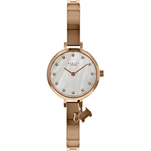 RADLEY Ladies Broad Street Rose Gold Tone Stainless Steel Strap Watch - RY4336