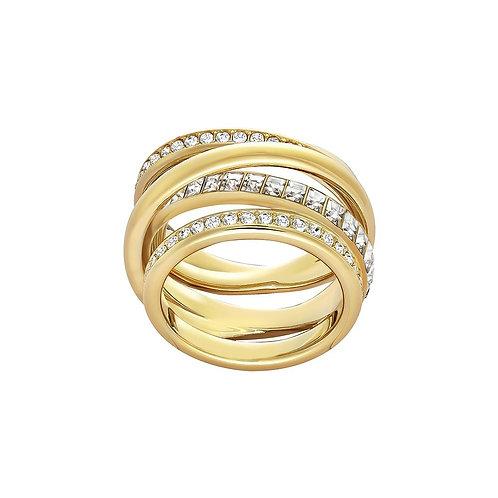 SWAROVSKI Dynamic Yellow Gold Tone Ring - 5221436