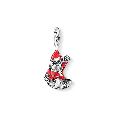 Thomas Sabo Silver Father Christmas Jolly Santa Claus Charm - 1320-051-14