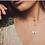 Thumbnail: ChloBo Sterling Silver Soul Glow Star Necklace - SN2534