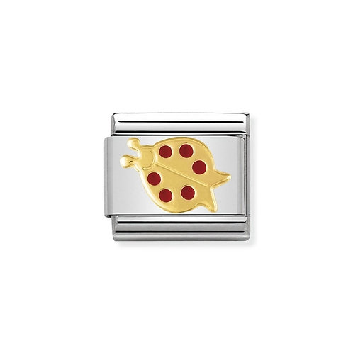 Nomination Classic Red Ladybird Charm Link - 030211/25