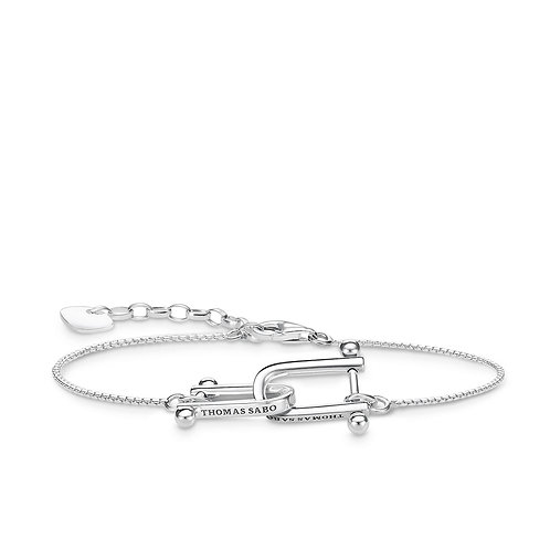 Thomas Sabo Silver Iconic Bracelet - A1815-637-21-L19V
