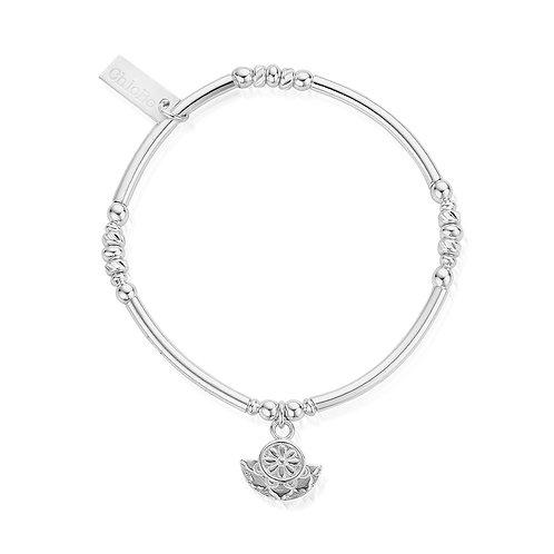 ChloBo Silver Ariella Radiance Charm Bracelet - SBNBBS891