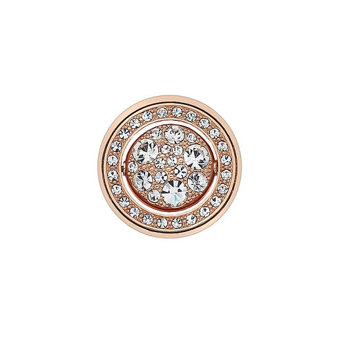 Emozioni by Hot Diamonds Terra-e-Luce Quattro Clear and Black CZ Coin - EC392