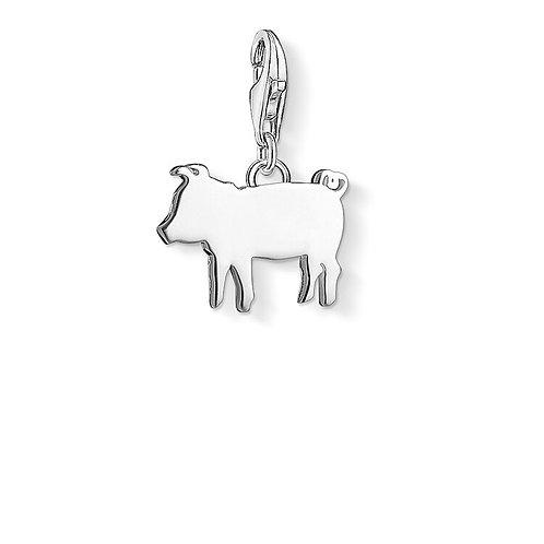 Thomas Sabo Silver Piglet Charm - 1290-001-12