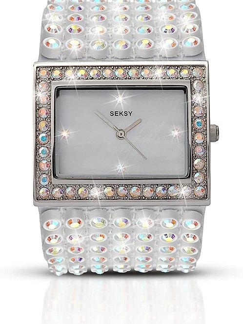 Sekonda Seksy Ladies Bling Mother of Pearl Dial Watch - 4294