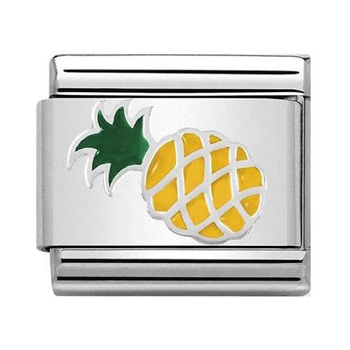Nomination Silvershine Pineapple Charm Link - 330202/45