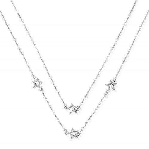 ChloBo Sterling Silver Soul Glow Star Necklace - SN2534