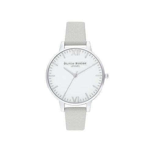 Olivia Burton Timeless Silver and Grey Watch - OB16TL12