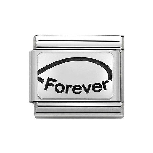 Nomination Silvershine Forever (Sisters) Charm Link - 330109/23