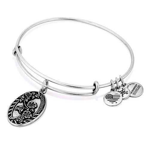 "Alex and Ani ""Because I love You Granddaughter"" Bangle - A16EB63RS"