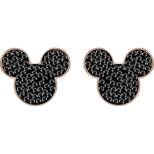 SWAROVSKI Mickey and Minnie Rose Gold Tone Stud Earrings - 5435137