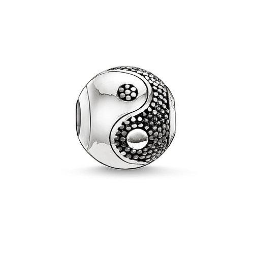 Thomas Sabo Karma Yin-Yang Bead Charm - K0019-001-12