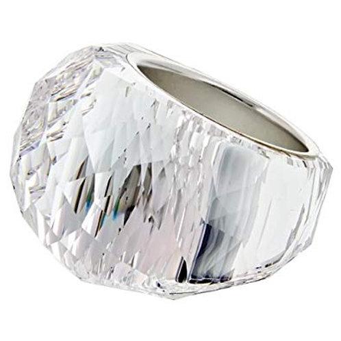 SWAROVSKI Nirvana Clear Crystal Ring - 846393 - SIZE 58