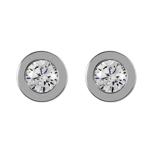 RADLEY Sterling Silver Love Radley Fountain Road Stud Earrings