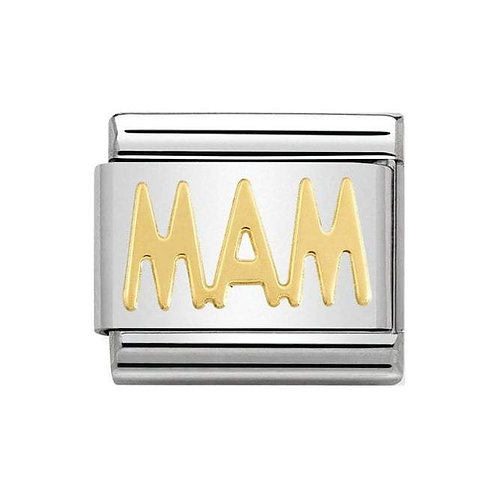 Nomination Gold MAM Charm Link - 030107/22