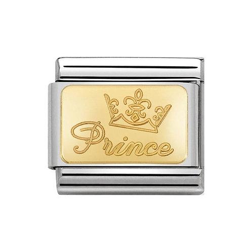 Nomination Gold Prince Charm Link -030121/46
