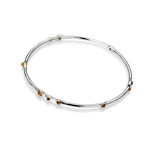 Emozioni Nettare Amber Bangle Bracelet - EB077