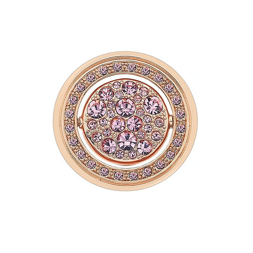 Emozioni by Hot Diamonds Purity and Compassion Quattro Rose Gold Coin