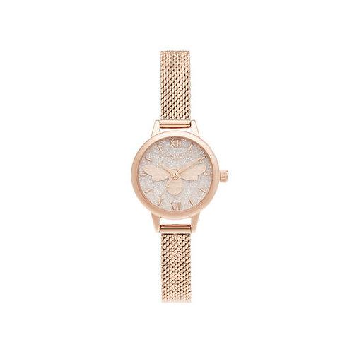 Olivia Burton Lucky Bee Mini Dial Rose Gold Watch - OB16FB15