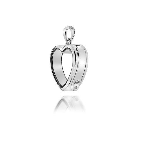Anais by Hot Diamonds Sterling Silver Love Heart Locket - AL001