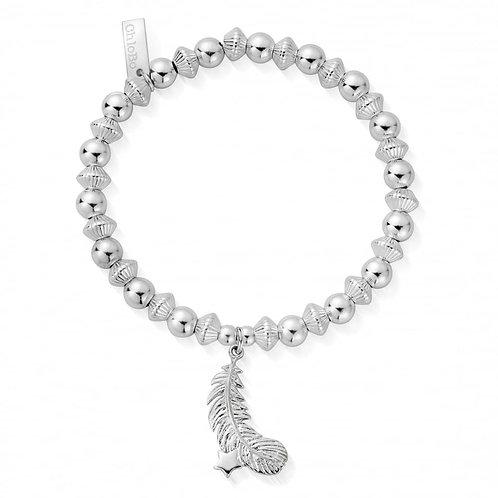 ChloBo Silver Cosmic Guiding Light Bracelet - SBCD2532