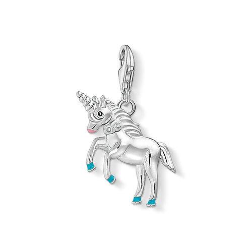 Thomas Sabo Silver Unicorn Charm - 1513-041-21