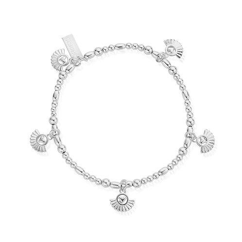 ChloBo Silver Ariella Real Love Bracelet - SBMCMULFH