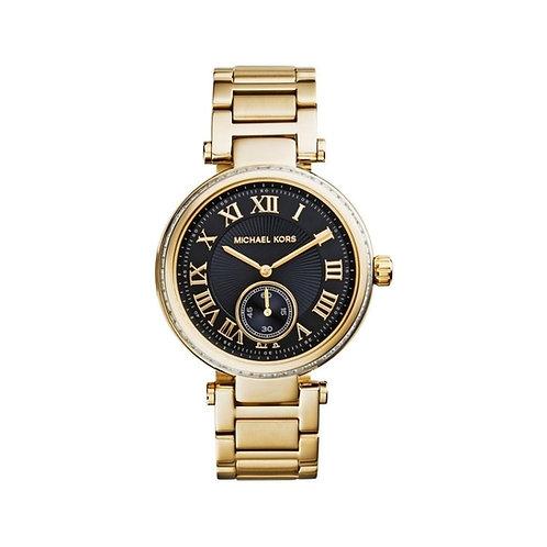 Michael Kors Gold Tone Skylar Bracelet Strap Watch MK5989