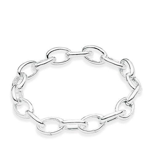 Thomas Sabo Sterling Silver Multi-Link Bracelet - A1115-001-12-18.5cm