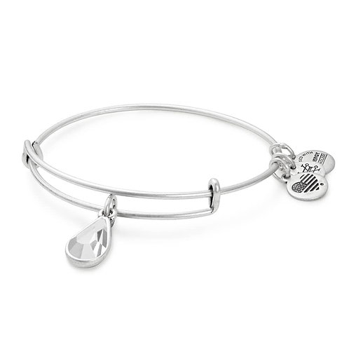 "Alex and Ani ""April Birthstone"" Charm Bangle - A17EB431RS"