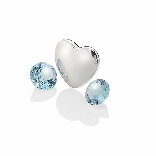 Anais by Hot Diamonds Sterling Silver December Birthstone Charm - AC032