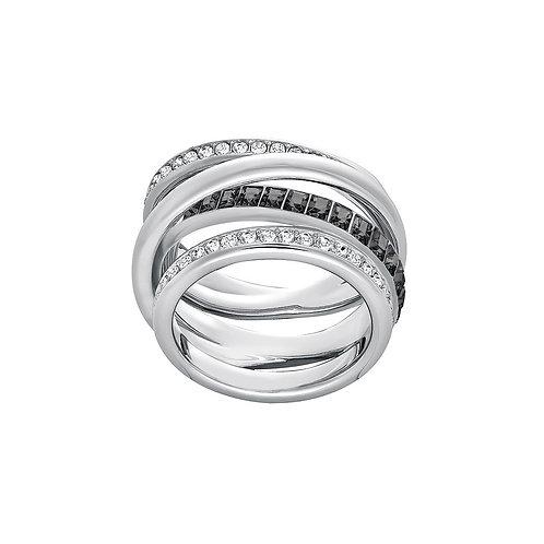 SWAROVSKI Dynamic Rhodium Ring - 5202250