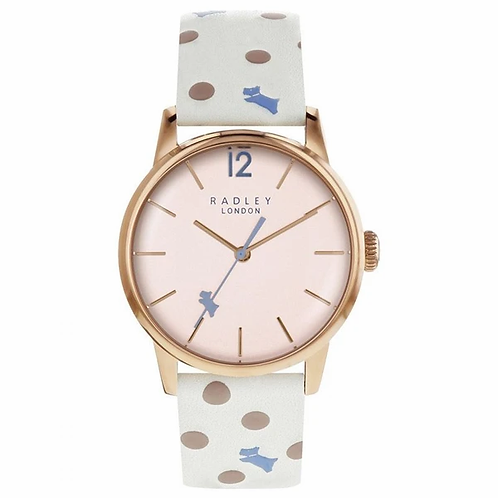 RADLEY Ladies Vintage Dog Leather Strap Watch - RY2566