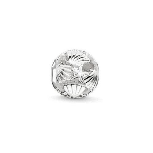 Thomas Sabo Karma Starfish Seashell Bead Charm - K0233-001-12