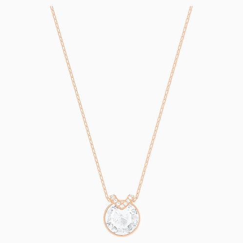 SWAROVSKI Rose Gold Tone Bella V Necklace  - 5299316