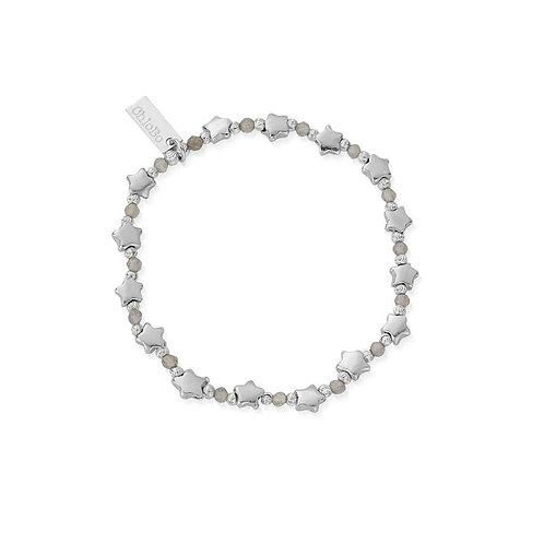 ChloBo Sterling Silver Mystic Nights Bracelet - SBLMULSTAR