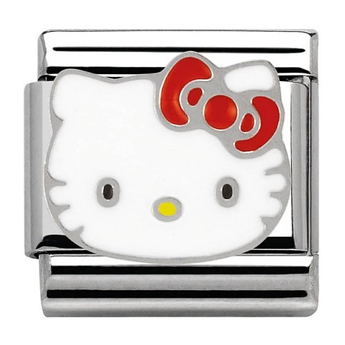 Nomination Hello Kitty Red Bow Charm Link - 230290/05