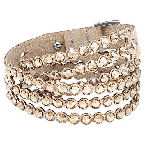 SWAROVSKI Double Power Bracelet in Beige  - 5494230