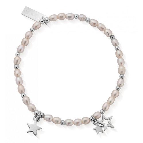 ChloBo Sterling Silver Confetti Falls Lifelong Magic Bracelet - SBLLMAGIC18
