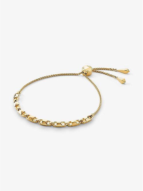 Michael Kors Gold Mercer Link Slider Bracelet