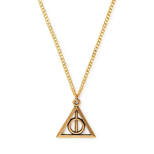Alex and Ani Harry Potter Deathly Hallows Adjustable Necklace - AS17HP23RG