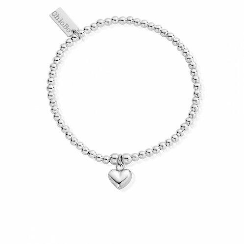 ChloBo Cute Puffed Heart Bracelet - SBCC023
