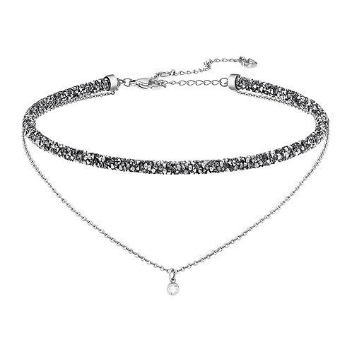 SWAROVSKI Grey Crystal Long Beach Necklace - 5365517