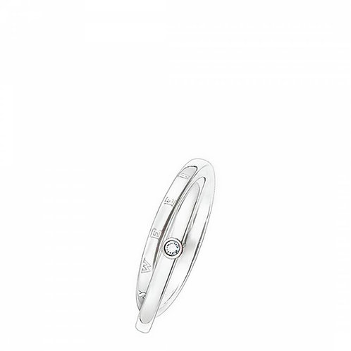 Thomas Sabo Silver Sweet Diamonds Ring - SD_TR0009-153-14-54