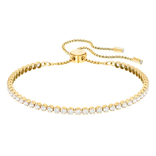 SWAROVSKI Sparkling Suble Gold Plated Bracelet - 5274305
